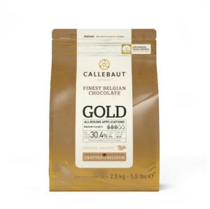 CIOCCOLATO BIANCO GOLD AL CARAMELLO 2.5 KG
