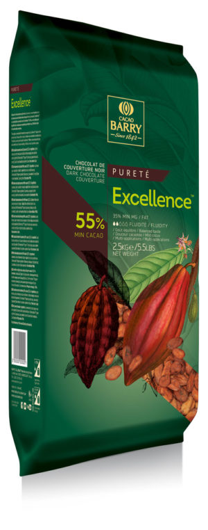 EXCELLENCE COPERTURA FONDENTE 55% 2.5 KG