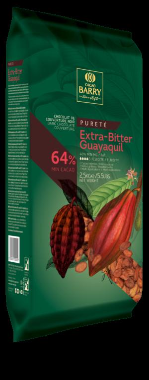 EXTRA BITTER COPERTURA FONDENTE PANI 64%  GUAYAQUIL EQUADOR 2.5 KG
