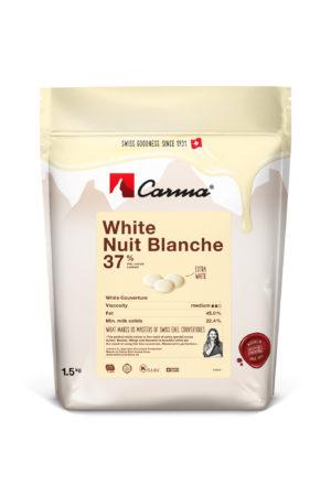 CIOCCOLATO WHITE NUIT BLANCHE 37% – 1.5 KG