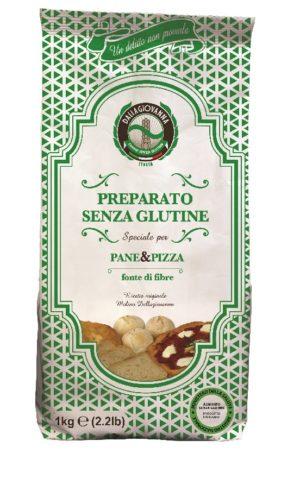FARINA MIX BREAD AND PIZZA SENZA GLUTINE 25 KG