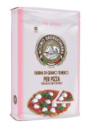 "FARINA ""00""- E PER PIZZA A LIEVITAZIONE DIRETTA KG 25"