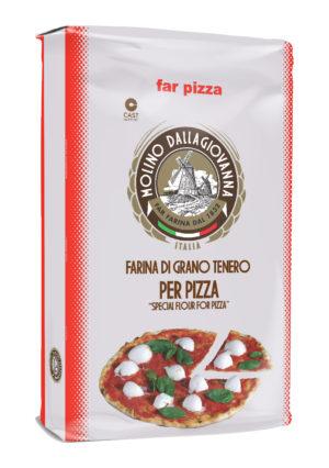 "FARINA ""00"" -S PER PIZZA A LUNGA LIEVITAZIONE W390 – 25 KG"