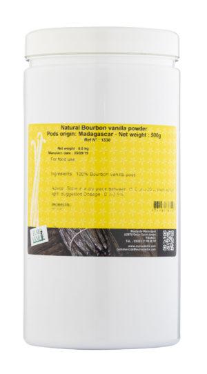 VANIGLIA BOURBON POLVERE  MADAGASCAR 0.5 KG