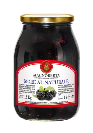 MORA AL NATURALE 1.3 KG